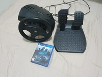 Used Ps steering wheel for ps4 with nfs in Dubai, UAE
