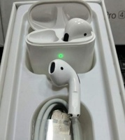 Used Pro 4 airpod first white color TWS in Dubai, UAE
