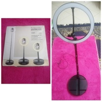 Used Tiktok Selfie LED Ring Light with stand in Dubai, UAE