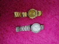 Used 2 pcs of new stainless steel watches in Dubai, UAE