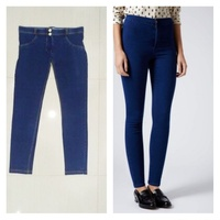 Used Navy Dark Blue Skimny Jeans NEW in Dubai, UAE