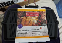 Used NewPrestige Cast Iron ChargrillerPR15863 in Dubai, UAE