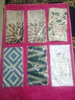 Used 6 pcs of pillow covers different designs in Dubai, UAE