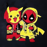 Used Pickachu and deadpool in Dubai, UAE