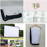 Used Portable Giant Projector Screen NEW in Dubai, UAE