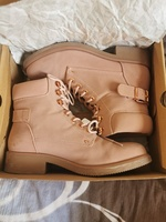 Used Lee Cooper Lace-Up Outdoor Boots | Pink in Dubai, UAE
