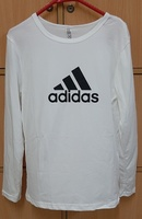 Used Adidas shirt for her in White ! in Dubai, UAE