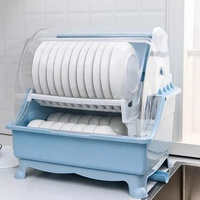 Used Dish Rack (blue and pink) in Dubai, UAE