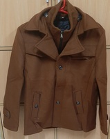 Used Thick coat for him in brown ! in Dubai, UAE