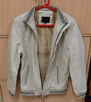 Used M size Beige Casual Jacket ! in Dubai, UAE