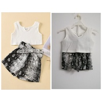 Used 2Pcs Summer 2 Year Baby Kid Girl Clothes in Dubai, UAE