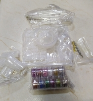 Used DIY crystal glue jewelry mold set in Dubai, UAE