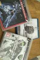 Used 2 ps3 games + 1 movie bluray in Dubai, UAE