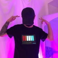 Used LED party Tshirt all sizes available in Dubai, UAE