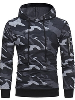 Used Branded Men's Camouflage Trendy hoodie in Dubai, UAE