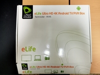 Used Elife ultra HD 4k tv PVR box in Dubai, UAE