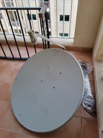 Used Dish with setup box in Dubai, UAE