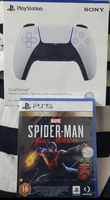 Used Ps5 controller and Spiderman bundle in Dubai, UAE