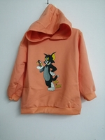 Used Tom & Jerry Print T Shirt Hoodie for kid in Dubai, UAE
