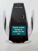 Used Wireless car's mobile holder & charger in Dubai, UAE