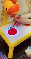 Used Sketchpad Projector for kids(blue/pink) in Dubai, UAE