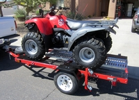 Used Quad bike trailer available in Dubai, UAE