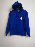 Used Blue color Hoodie sweatshirt size Medium in Dubai, UAE
