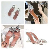 Used Rhinestone High Heels  👠 34 size in Dubai, UAE