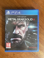 Used Metal Gear Solid 5 PS4 in Dubai, UAE