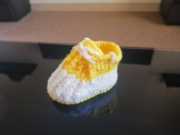 Used Crochet baby shoes in Dubai, UAE