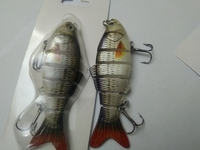 Used Fish bait 2 pcs AWT1607375591 in Dubai, UAE