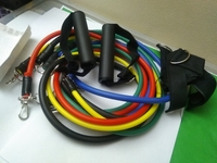 Used 11 pieces Adjustable resistance band in Dubai, UAE