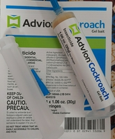 Used 3 pieces advion Cockroaches Gel in Dubai, UAE