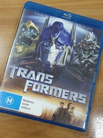 Used Transformers two-disk special Bluray in Dubai, UAE