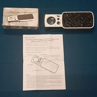 Used Portable LED loupe magnifier 1pc ! in Dubai, UAE