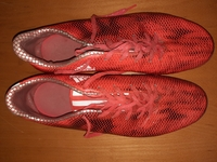 Used Adidas footbal shoes 47 + free carry bag in Dubai, UAE
