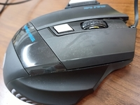 Used Lenovo & jwfy gaming mouse(free mousepad in Dubai, UAE