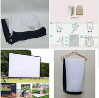 Used Portable giant movie screen new: in Dubai, UAE