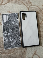 Used Note 10+ dbrand grip case + robot skin in Dubai, UAE