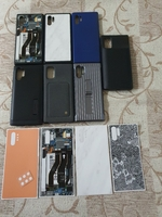 Used Note 10+ covers and dbrand skins in Dubai, UAE