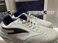 Used Sneakers FitnessStep grey & black in Dubai, UAE