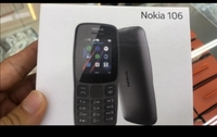 Used NOKIA106 DUAL SIM MOBILE+CHARGER in Dubai, UAE