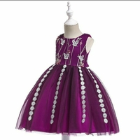 Used Girls Party Dress new size 2 years in Dubai, UAE