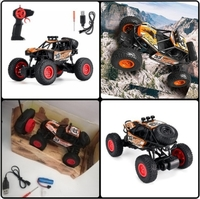 Used RC Car Rock Crawler Remote Control Toy. in Dubai, UAE