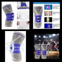 Used Nylon Silcon knee sleeve pain relive2pcs in Dubai, UAE