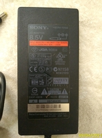 Used Sony 8.5V leptop charger adapter (used) in Dubai, UAE