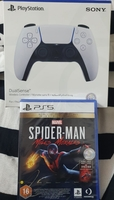 Used spiderman-milesmorles  + ps5 remote in Dubai, UAE
