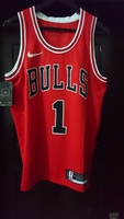 Used NBA Chicago Bulls Jersey #1 Derrick Rose in Dubai, UAE
