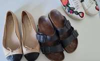 Used Chanel and birkenstock bundle in Dubai, UAE