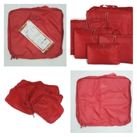Used 5 In 1 Travel Bags Red 🎒 in Dubai, UAE